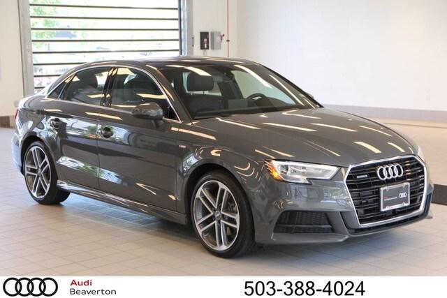 Pre-Owned 2018 Audi A3 2.0T Premium Plus Sedan for sale in Beaverton, OR