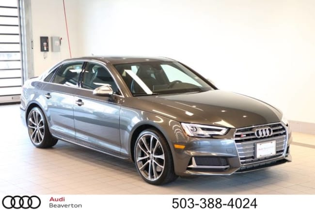 New 2018 Audi S4 Premium Plus Sedan for sale in Beaverton, OR
