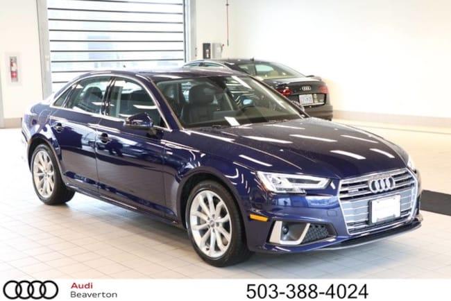New 2019 Audi A4 Premium Plus Sedan for sale in Beaverton, OR