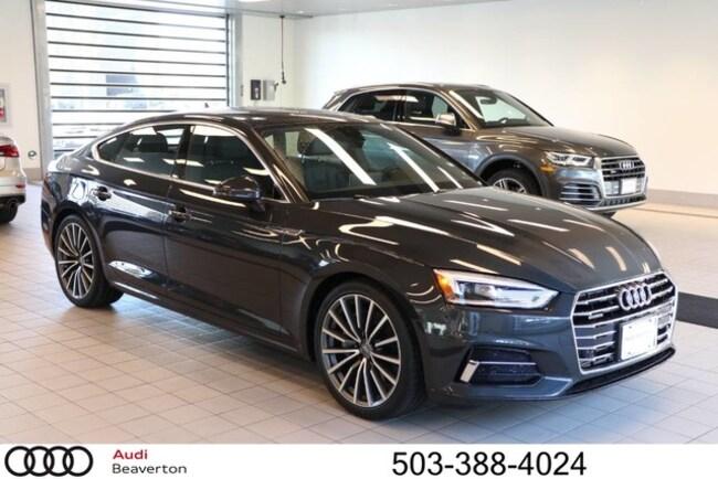 New 2018 Audi A5 Premium Plus Sportback for sale in Beaverton, OR