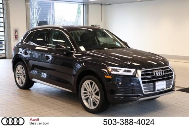 New 2019 Audi Q5 Premium Plus SUV for sale in Beaverton, OR