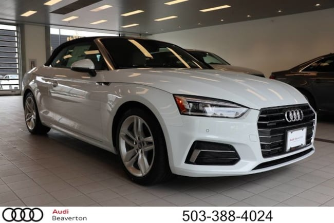 New 2019 Audi A5 Premium Plus Cabriolet for sale in Beaverton, OR