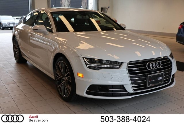 Pre-Owned 2018 Audi A7 3.0T Premium Plus Hatchback for sale in Beaverton, OR