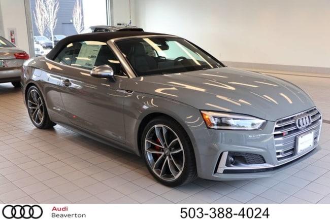 New 2019 Audi S5 Prestige Cabriolet for sale in Beaverton, OR