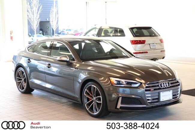 New 2019 Audi S5 Premium Plus Sportback for sale in Beaverton, OR