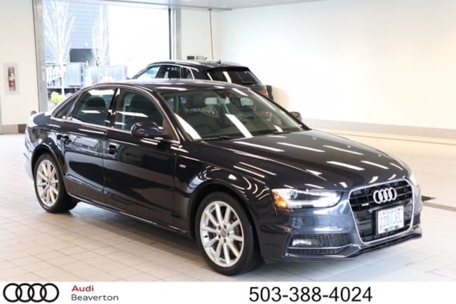 2016 Audi A4 2.0T Premium (Tiptronic) Sedan For sale near Camas WA