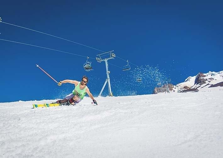 Skiing near Portland, OR