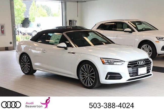 New 2018 Audi A5 Premium Plus Cabriolet for sale in Beaverton, OR