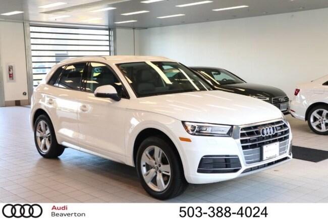 New 2018 Audi Q5 Premium SUV for sale in Beaverton, OR