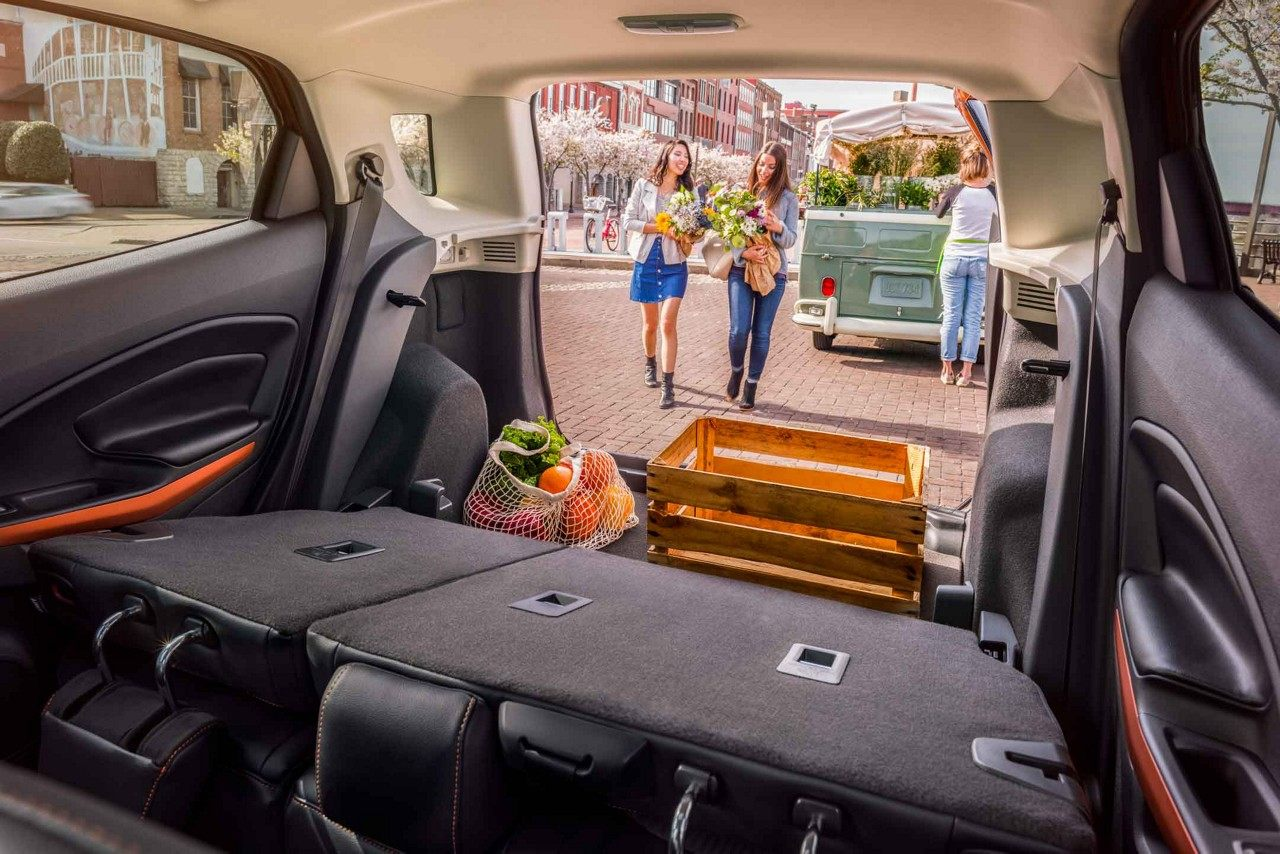 2018 ford ecosport cargo space sunset ford st louis mo. Black Bedroom Furniture Sets. Home Design Ideas