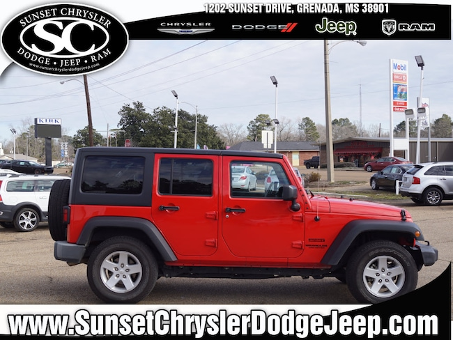 Used 2016 Jeep Wrangler Unlimited Sport S 4x4 Sport S  SUV near Oxford MS