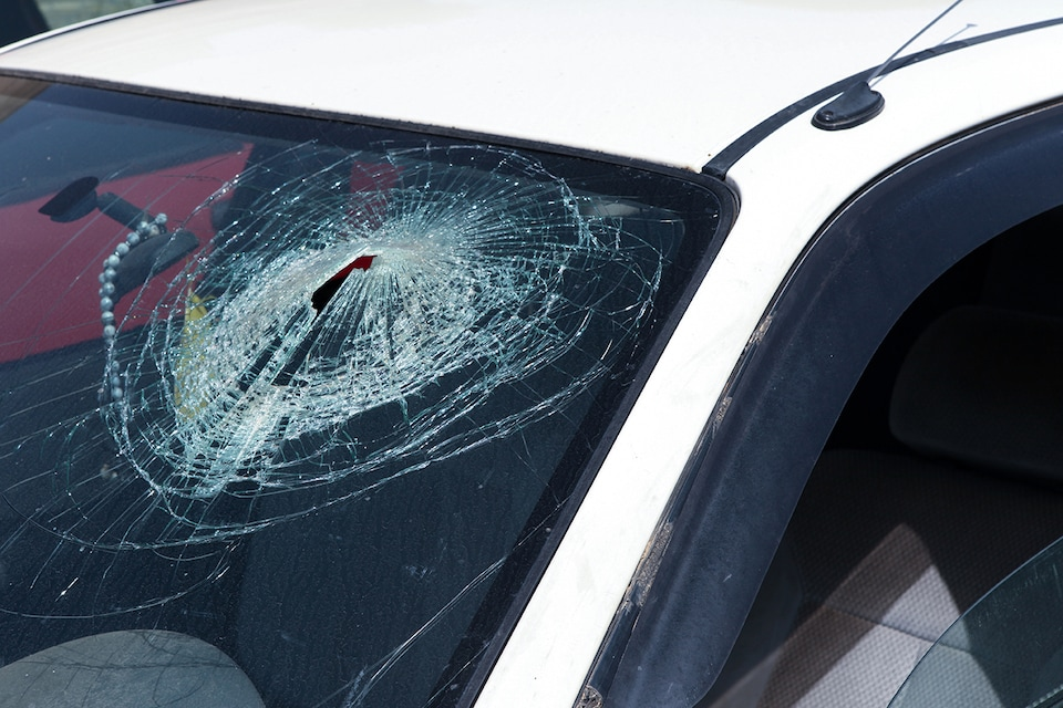 Windshield Needing Repair in Sarasota