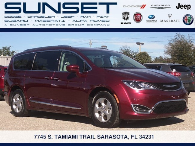 Certified pre-owned 2017 Chrysler Pacifica Touring-L Plus Van in Sarasota