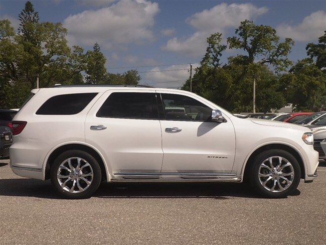 Certified pre-owned 2016 Dodge Durango Citadel SUV in Sarasota