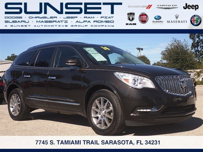 Used 2014 Buick Enclave Leather SUV in Sarasota