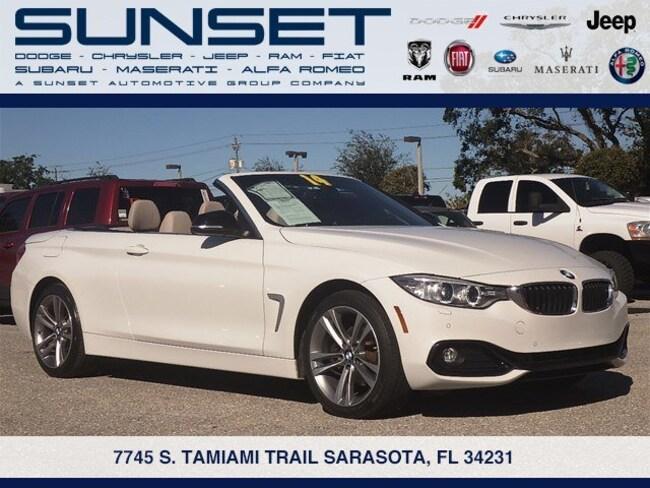 Used 2014 BMW 4 Series 428i xDrive Convertible in Sarasota