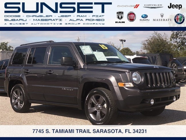 Certified pre-owned 2015 Jeep Patriot High Altitude Edition SUV in Sarasota