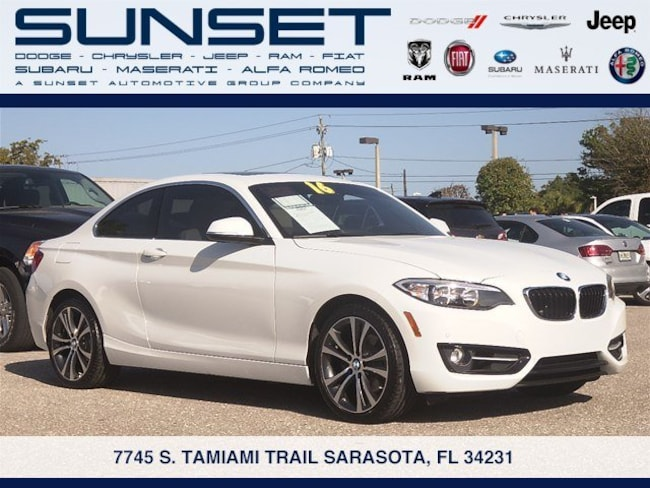 Used 2016 BMW 2 Series 228i Coupe in Sarasota