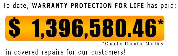 WPFL has paid $1,396,580.46 in covered warranty claims