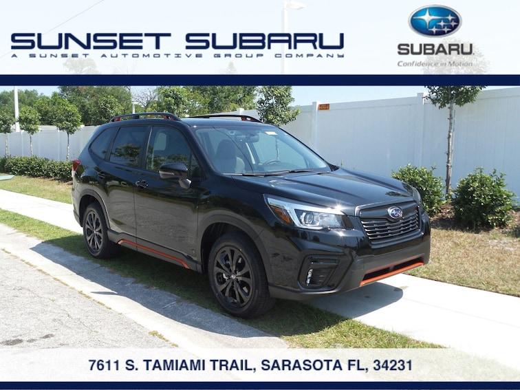 New 2019 Subaru Forester Sport SUV in Sarasota, FL
