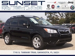 Certified Pre-Owned 2015 Subaru Forester 2.5i SUV JF2SJABC7FH426041 in Sarasota, FL