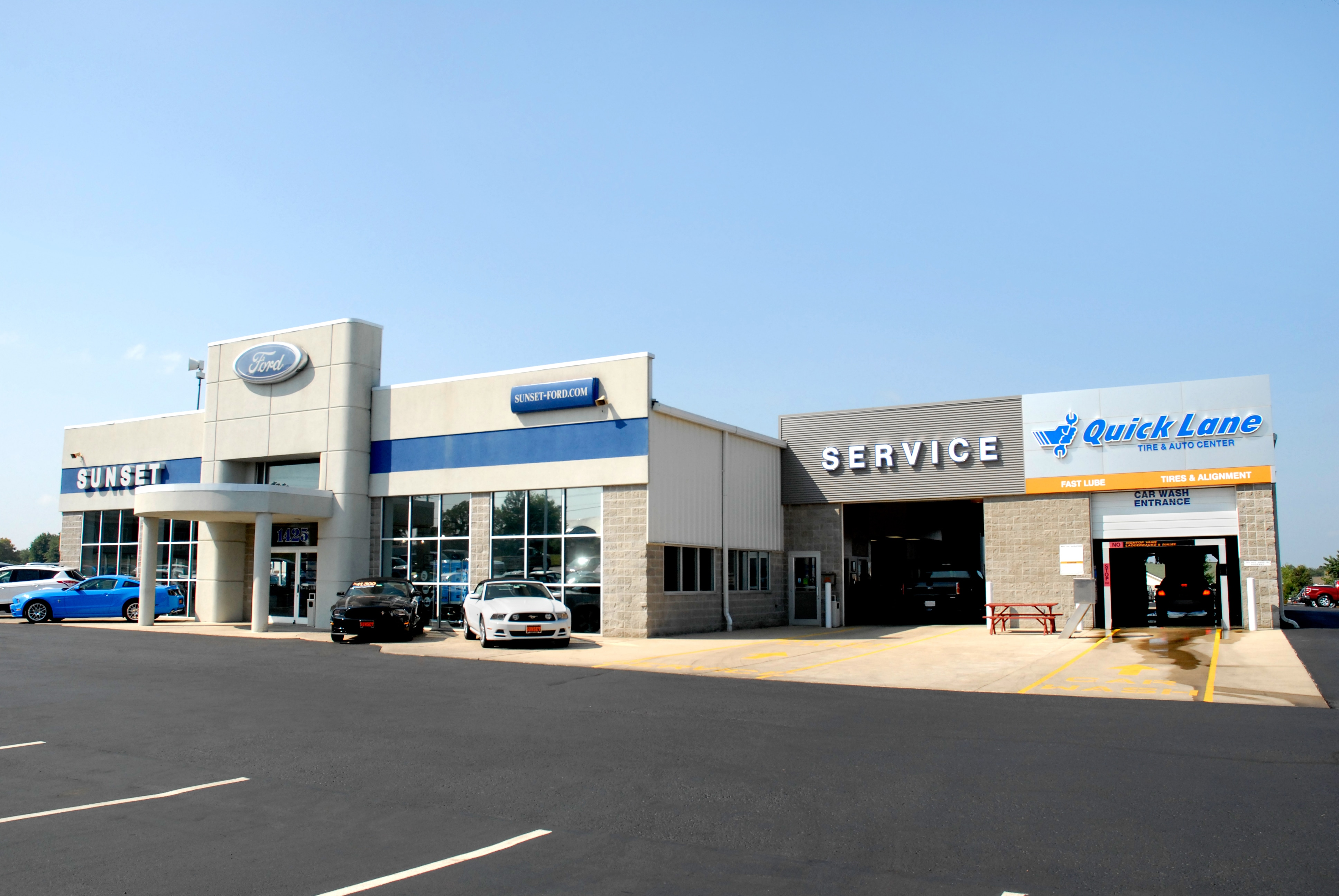 sunset ford auto group new dealership in waterloo il 62298. Black Bedroom Furniture Sets. Home Design Ideas