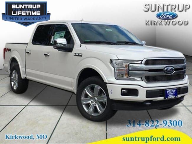 New Ford for sale 2018 Ford F-150 Platinum Truck SuperCrew Cab in St. Louis, MO