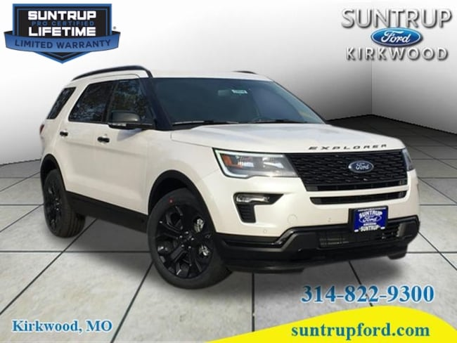 New Ford for sale 2019 Ford Explorer Sport SUV in St. Louis, MO