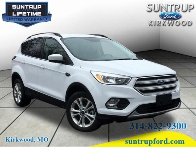 2018 Ford Escape SE AWD AWD SE  SUV for sale at Suntrup Ford near St. Louis MO