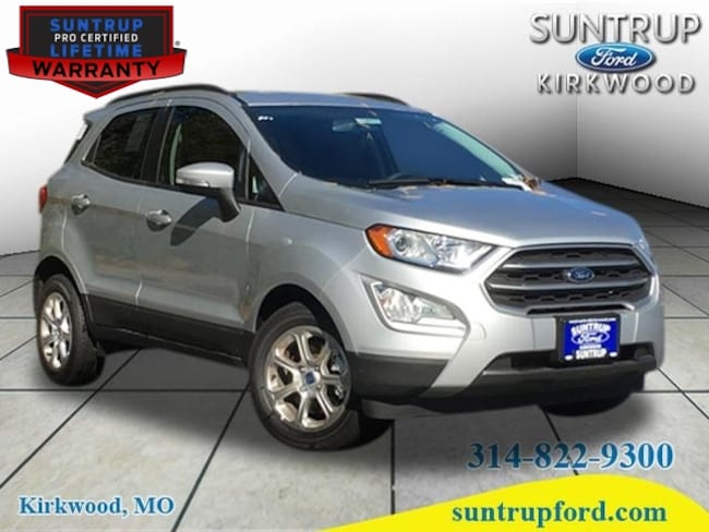 New Ford for sale 2018 Ford EcoSport SE SUV in St. Louis, MO