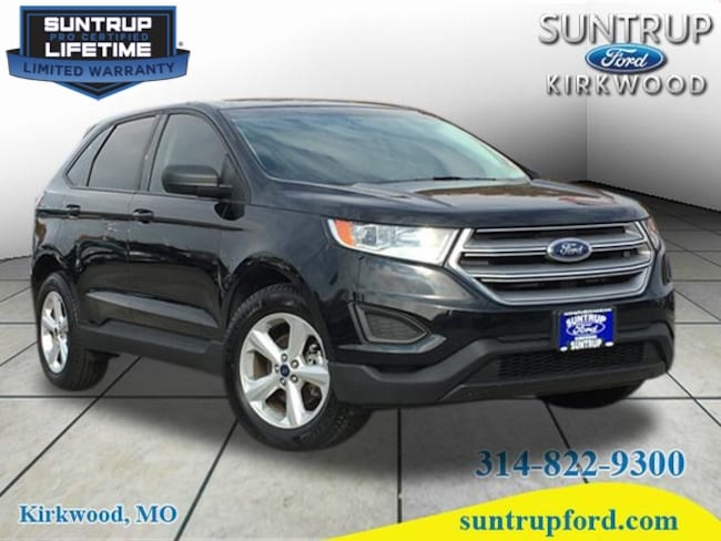 2016 Ford Edge SE SE  Crossover for sale at Suntrup Ford near St. Louis MO