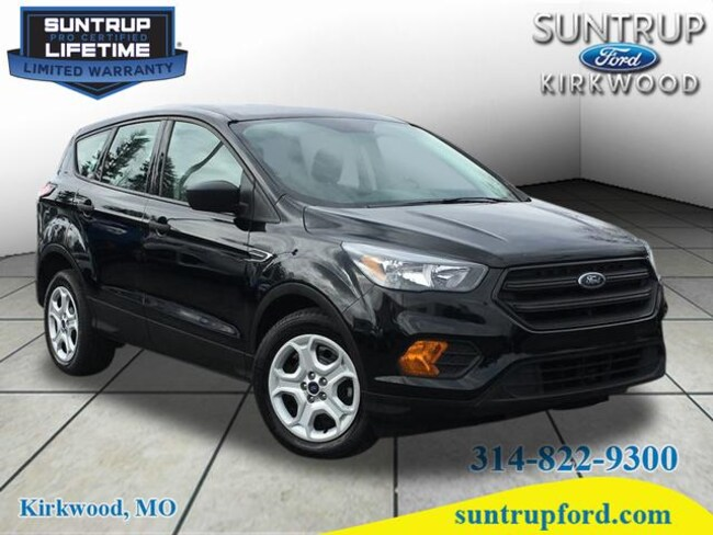 2018 Ford Escape S S  SUV R1919 for sale at Suntrup Ford near St. Louis MO