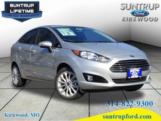 New Ford for sale 2018 Ford Fiesta Titanium Sedan in St. Louis, MO