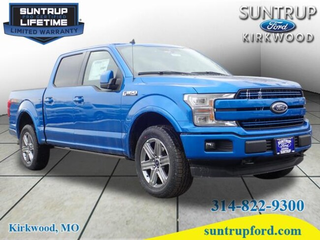 New Ford for sale 2019 Ford F-150 Lariat Truck SuperCrew Cab in St. Louis, MO
