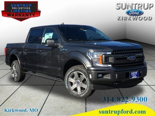 Featured New 2019 Ford F-150 XLT Truck SuperCrew Cab for sale in St. Louis, MO