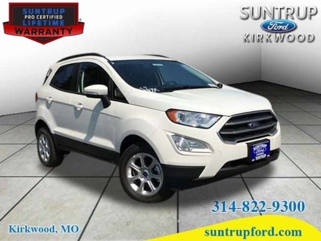 New Ford for sale 2018 Ford EcoSport SE 4X4 SUV in St. Louis, MO