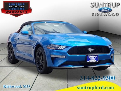 New 2019 Ford Mustang Ecoboost Convertible For Sale In Saint Louis Mo Near St Charles Kirkwood Belleville Columbia 19394 Vin