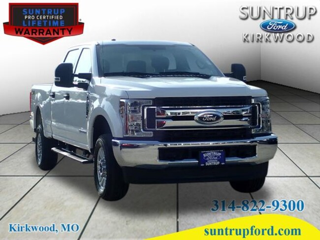 2019 Ford F-250 Super Duty XLT 4x4 XLT  Crew Cab 6.8 ft. SB Pickup R1985 for sale at Suntrup Ford near St. Louis MO