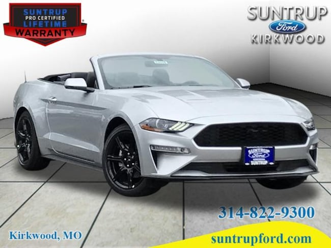 New 2019 Ford Mustang Ecoboost Premium Convertible For Sale