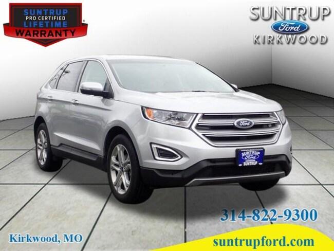 2018 Ford Edge Titanium Titanium  Crossover P7688 for sale at Suntrup Ford near St. Louis MO