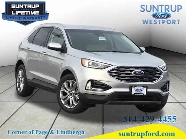 New Ford for sale 2019 Ford Edge Titanium Titanium  Crossover in St. Louis, MO