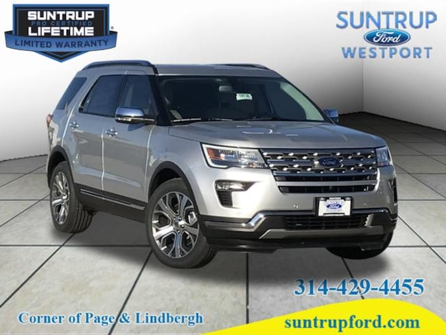 New Ford for sale 2019 Ford Explorer Limited Limited  SUV in St. Louis, MO