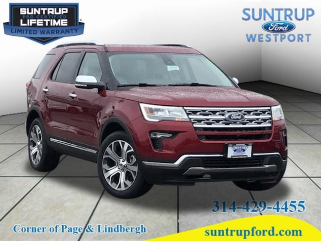 New Ford for sale 2019 Ford Explorer Limited AWD Limited  SUV in St. Louis, MO