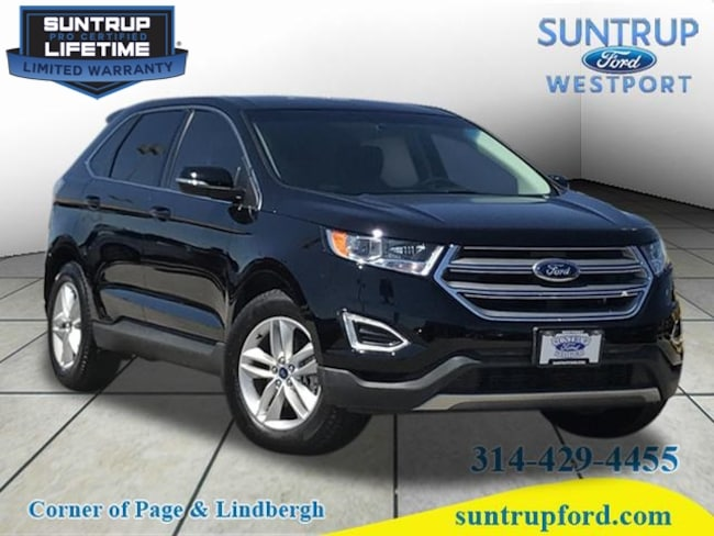 2017 Ford Edge SEL SEL  Crossover for sale at Suntrup Ford near St. Louis MO
