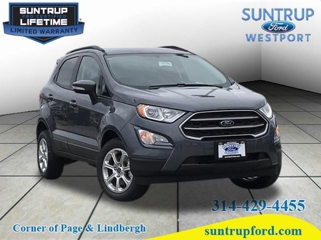 2018 Ford EcoSport AWD SE Crossover