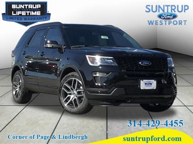 New Ford for sale 2019 Ford Explorer Sport AWD Sport  SUV in St. Louis, MO
