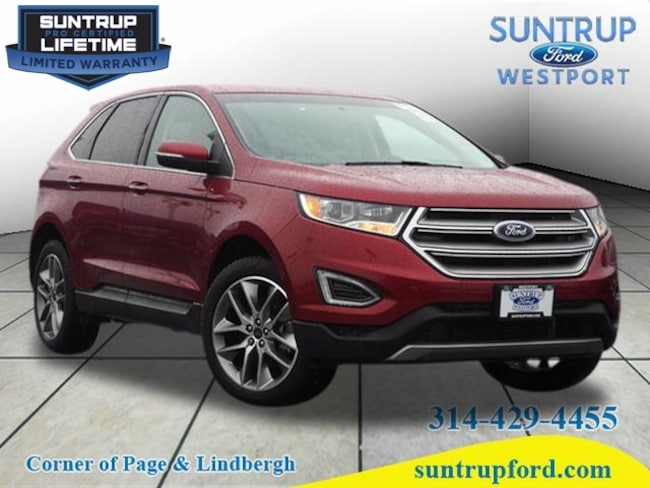 2016 Ford Edge Titanium AWD Titanium  Crossover for sale at Suntrup Ford near St. Louis MO