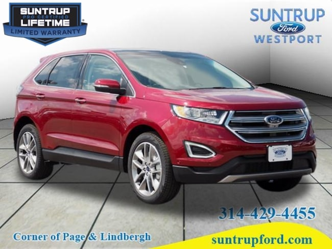 New Ford for sale 2017 Ford Edge Titanium AWD Titanium  Crossover in St. Louis, MO