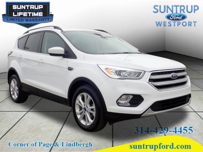 2017 Ford Escape SE SE  SUV for sale at Suntrup Ford near St. Louis MO