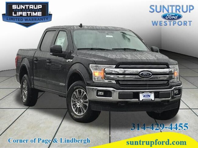 New Ford for sale 2019 Ford F-150 Lariat 4x4 Lariat  SuperCrew 5.5 ft. SB in St. Louis, MO